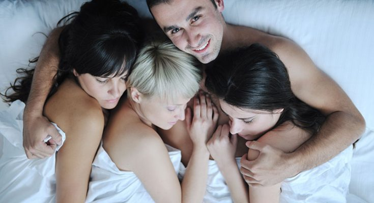 групповой порно секс втроем