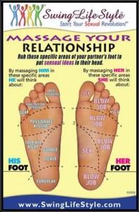 Swinger Magazine-Swinger Foot Massage